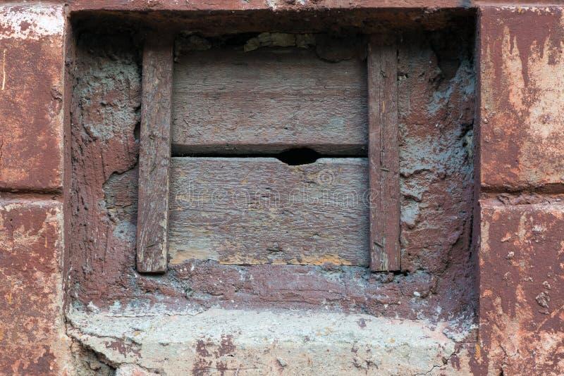 Steen en houten muurtextuur voor achtergrond stock afbeeldingen