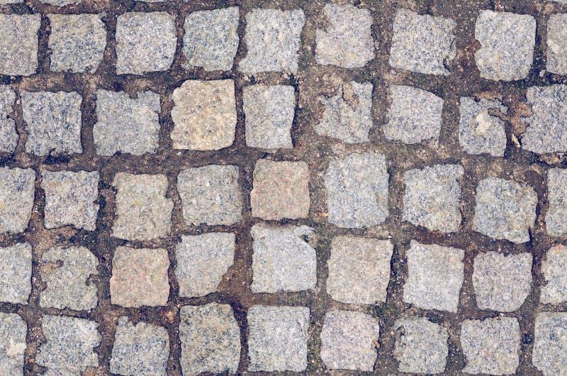 Steen het bedekken tegels naadloze textuur stock afbeelding