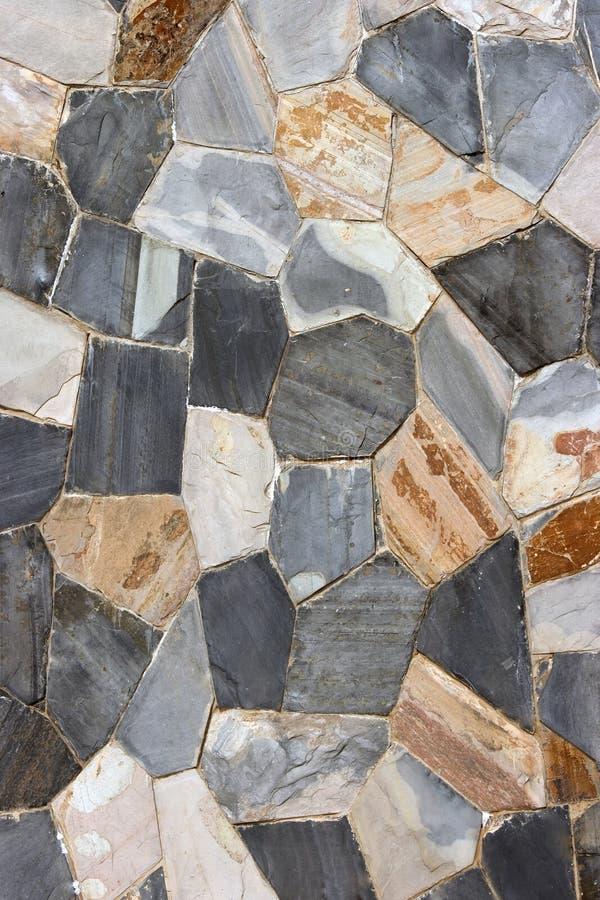 Steen wall4 stock foto's