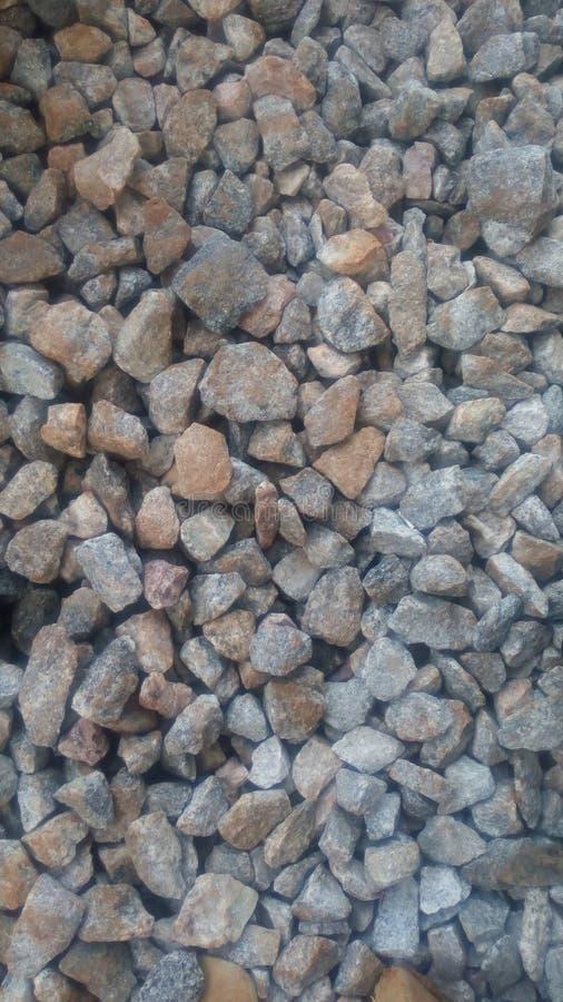 Steenachtige grond royalty-vrije stock afbeelding