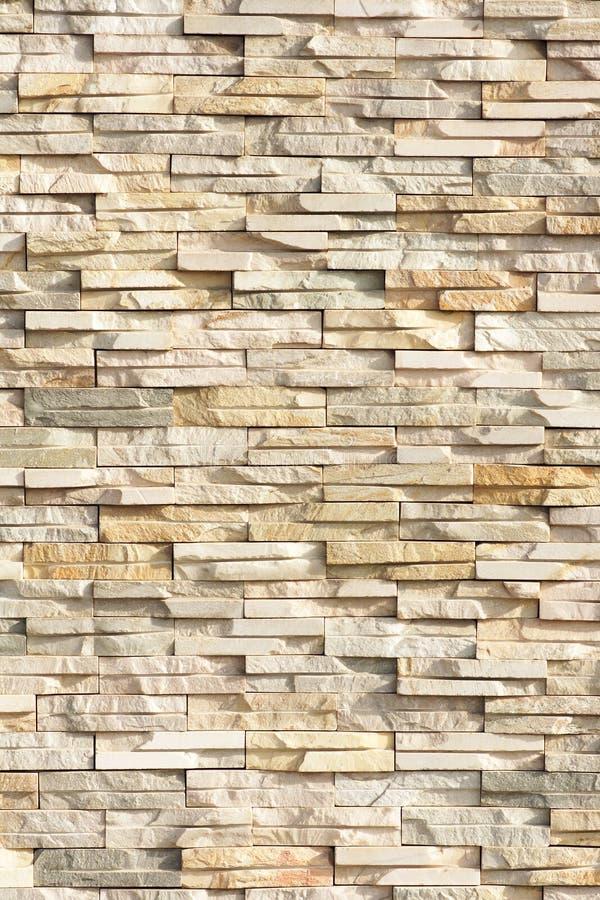Steenbakstenen muur stock afbeelding