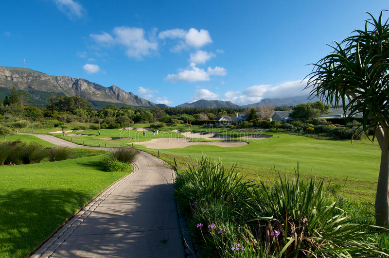 Steenberg Golf Vista stock images