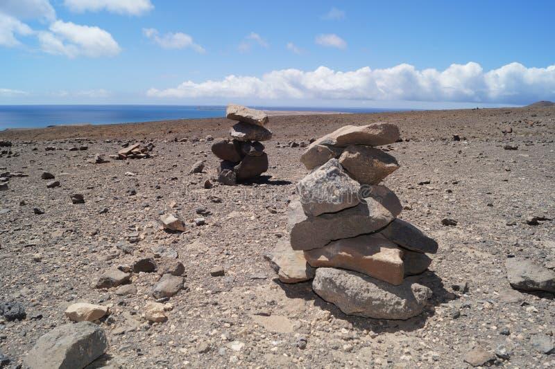 Steenhoop - hoop van stenen stock foto's