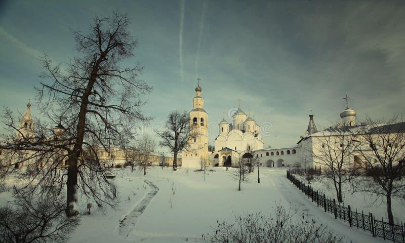 Steenkapel, orthodoxe kerk, stock foto