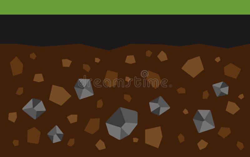 steenkool royalty-vrije illustratie