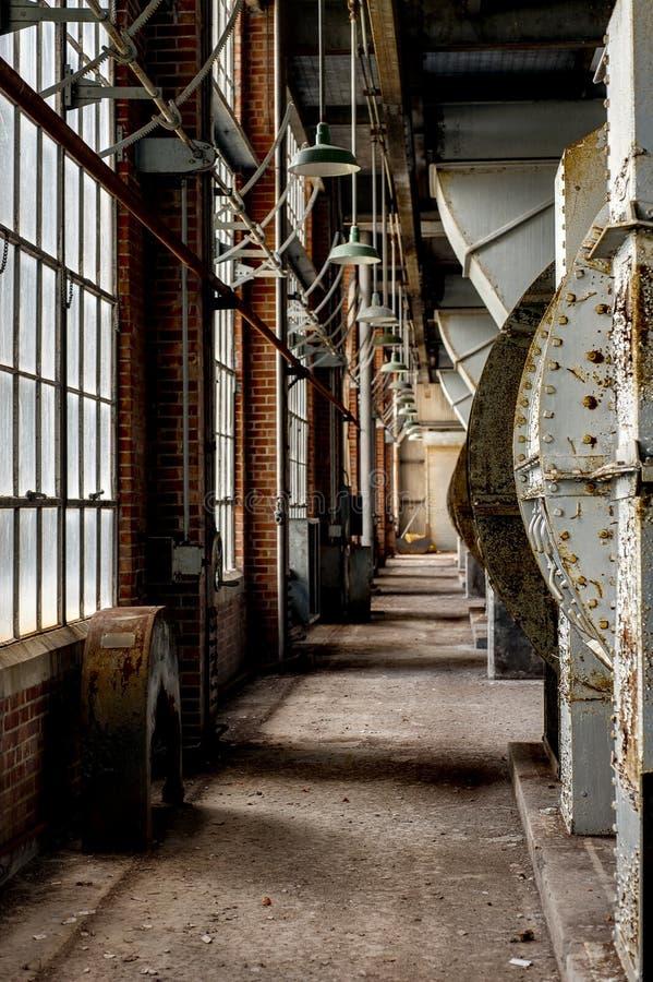 Steenkoolelektrische centrale - Indiana Army Ammunition Depot - Indiana stock afbeelding