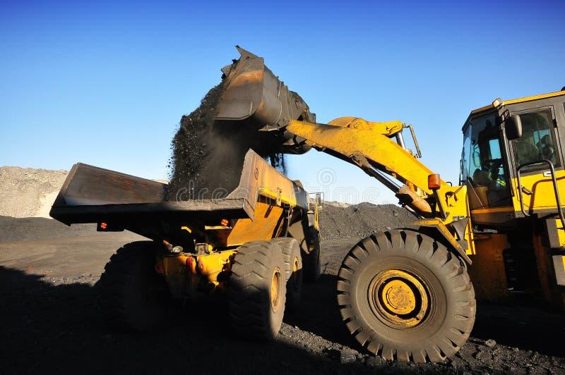 Steenkoollevering royalty-vrije stock foto