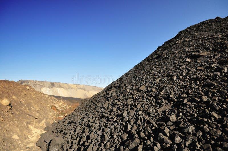 Steenkoollevering stock foto