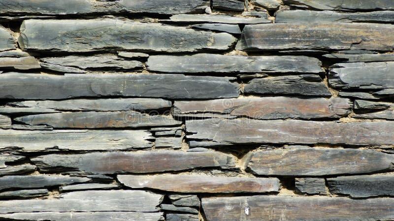 Steenmuur voor textuur stock afbeelding