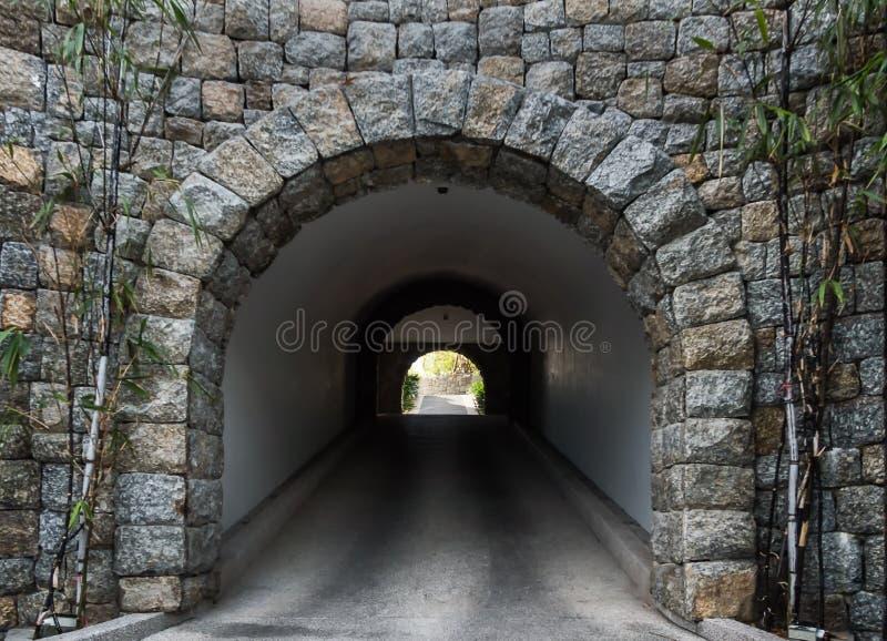 steentunnel royalty-vrije stock foto