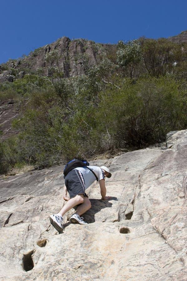 Steep climb 4 stock image