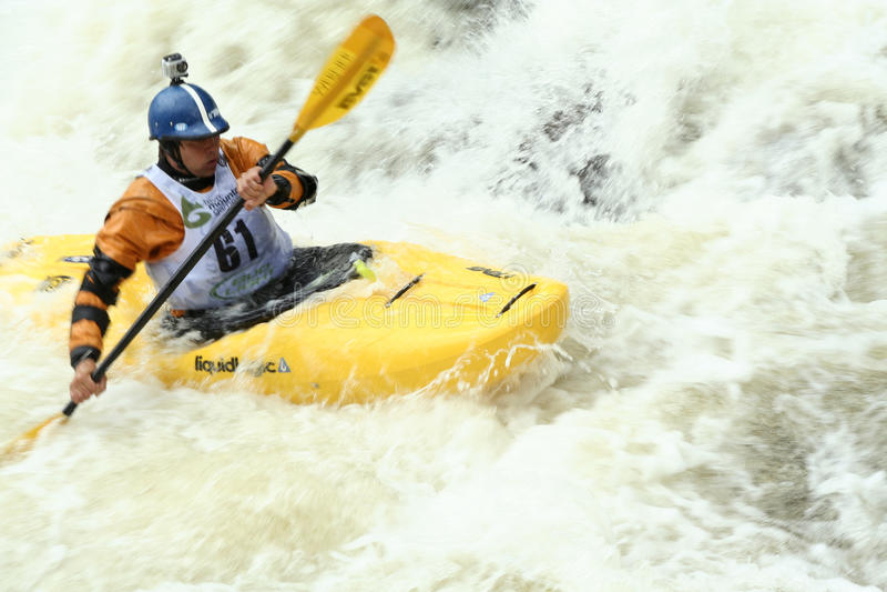Steep Creek Championship - Vail Colorado stock images