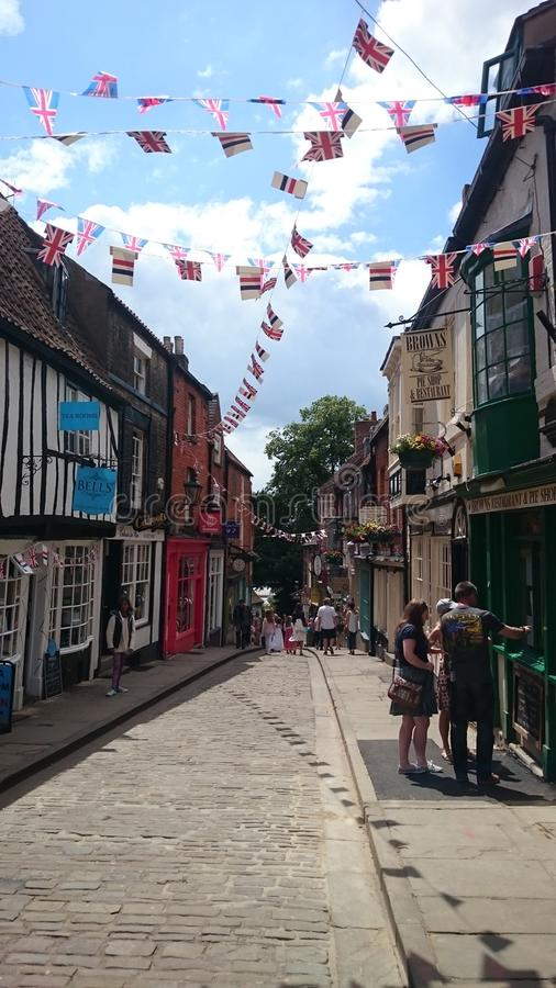 Steep hill royalty free stock photography