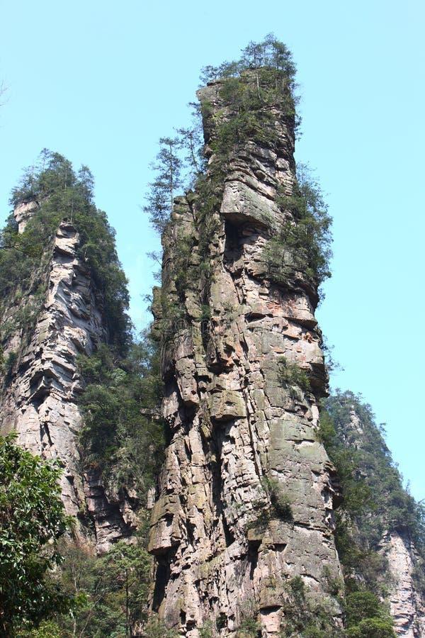 Steep Mountain Cliff Stock Photography