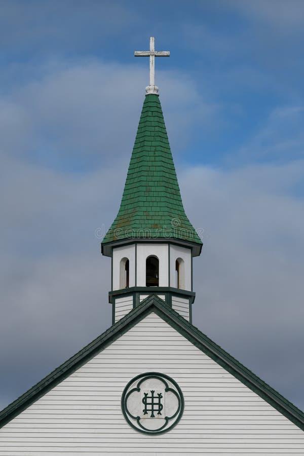 Steeple католической церкви ` s St Joseph стоковое фото
