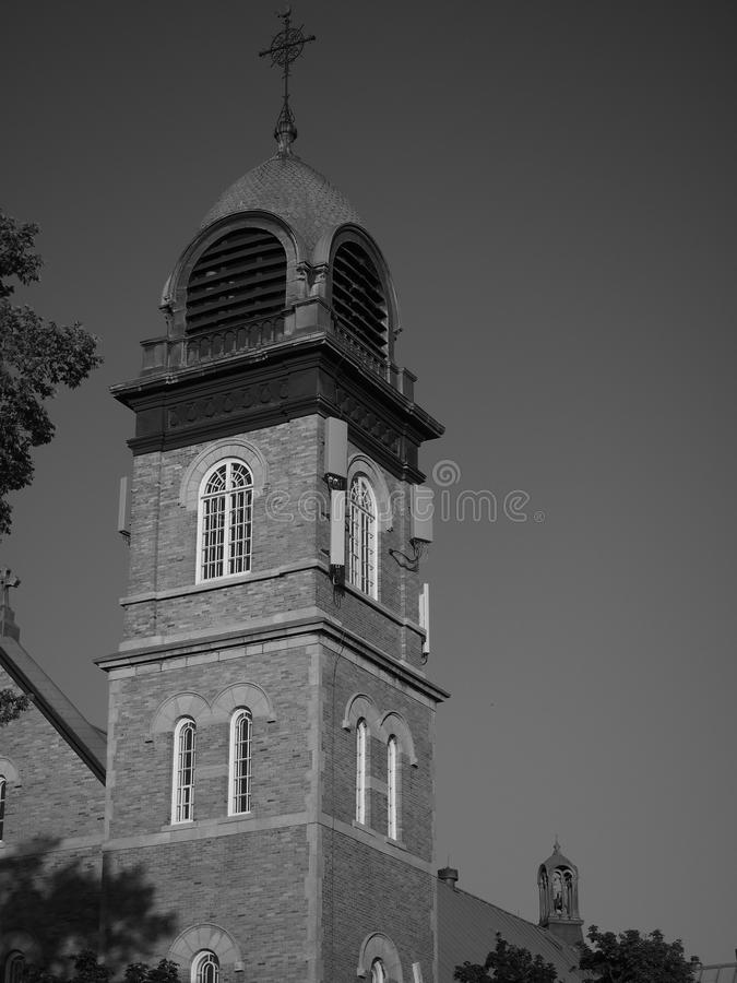 Steeple da igreja fotografia de stock royalty free