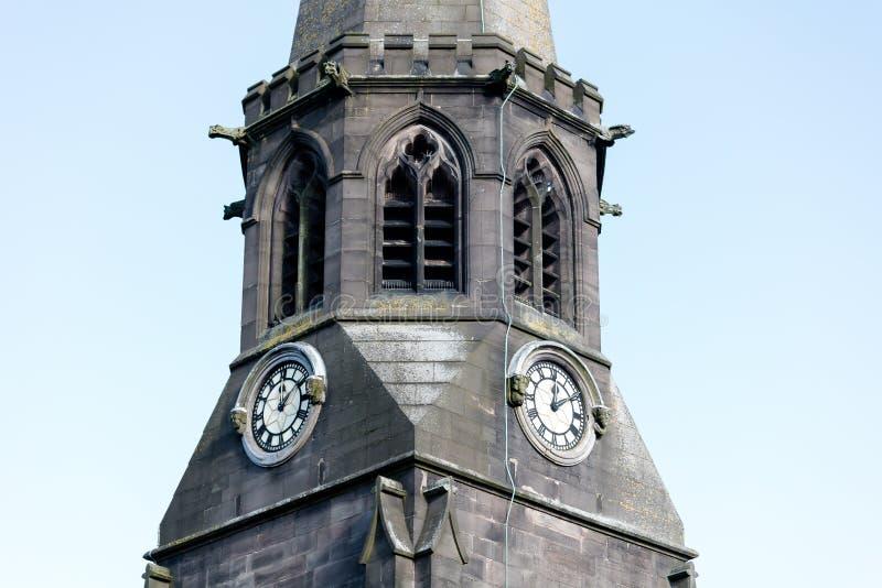 Steeple da igreja imagem de stock