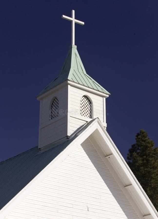 Steeple da igreja. fotografia de stock royalty free