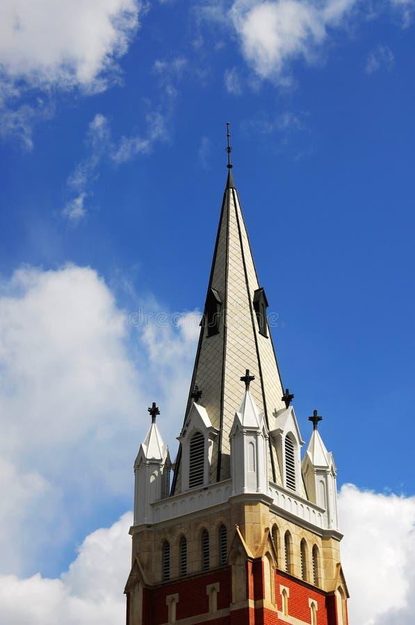 Steeple da igreja imagens de stock royalty free