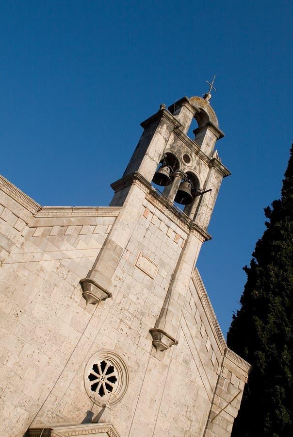 Steeple da igreja ortodoxa velha imagem de stock royalty free