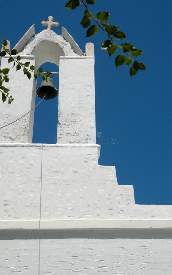 Download Steeple Grecia Della Chiesa Immagine Stock - Immagine di torretta, città: 213241