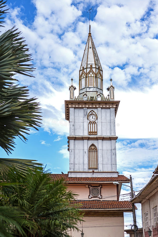 Free Steeple Of An Old Cathedral On A Sunny Day Royalty Free Stock Photo - 44443945