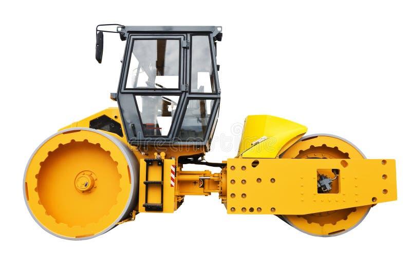 Download Steered Tandem Roller stock photo. Image of asphalt, mining - 25122910