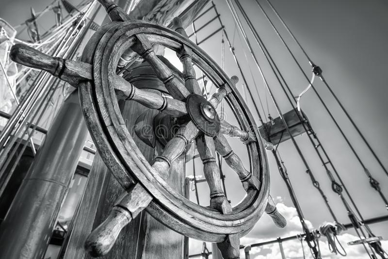 steering стоковая фотография