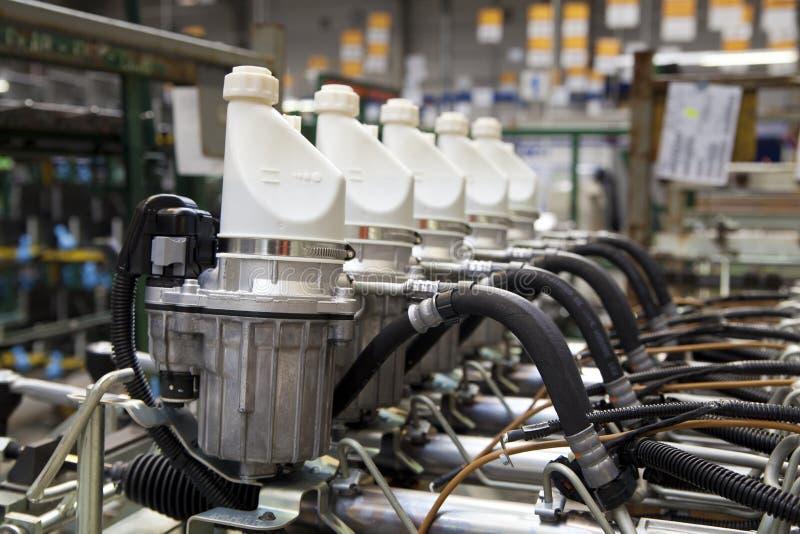 Steering gear stock image