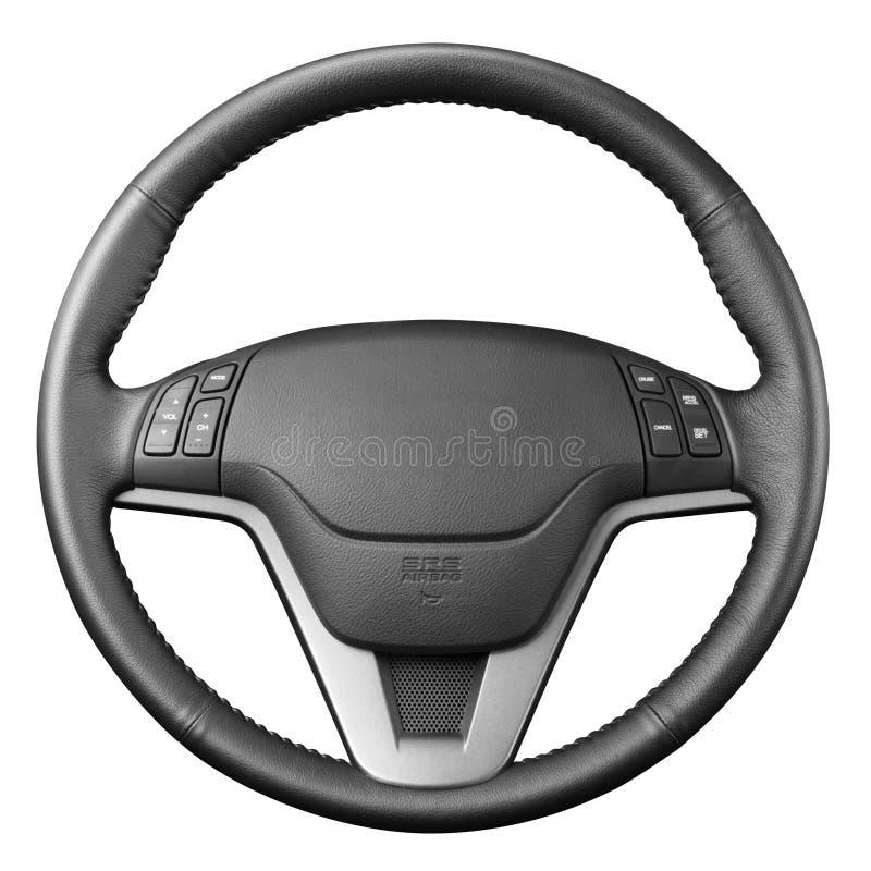 Steering wheel. stock photography