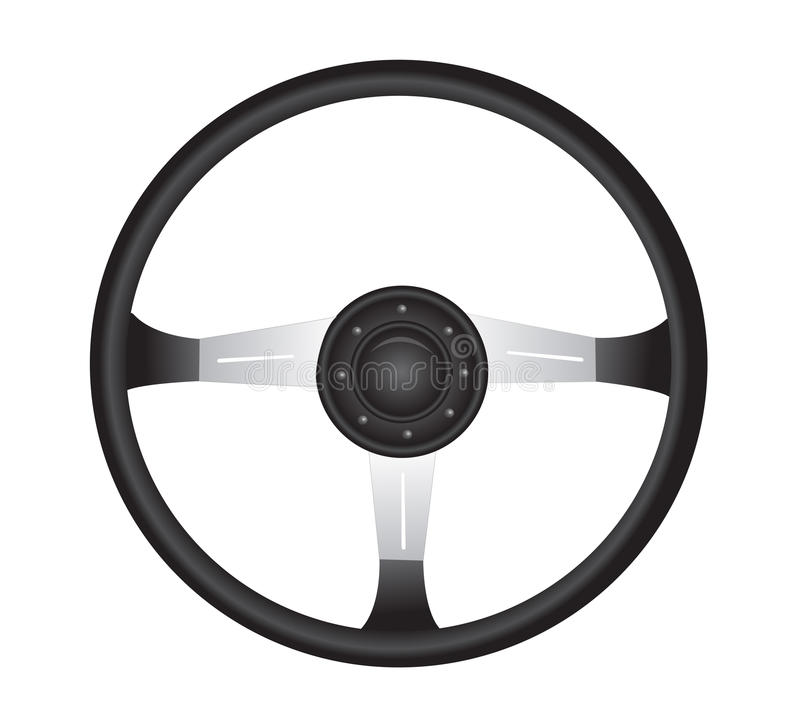 Download Steering wheel stock illustration. Image of drive, clip - 24223682