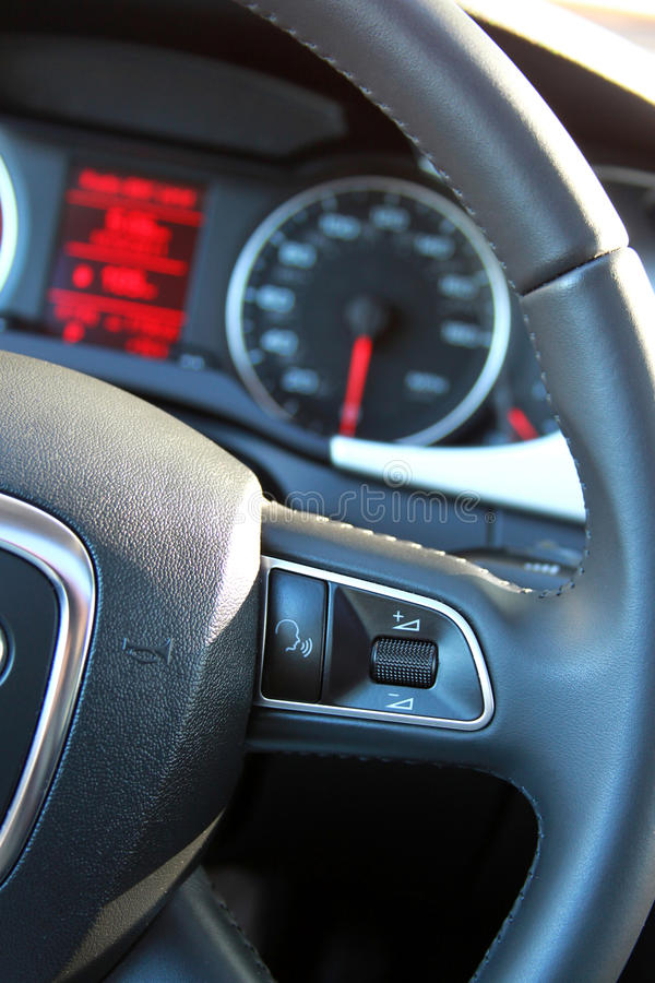 Download Steering Wheel And Dashboard Stock Image - Image: 21545585