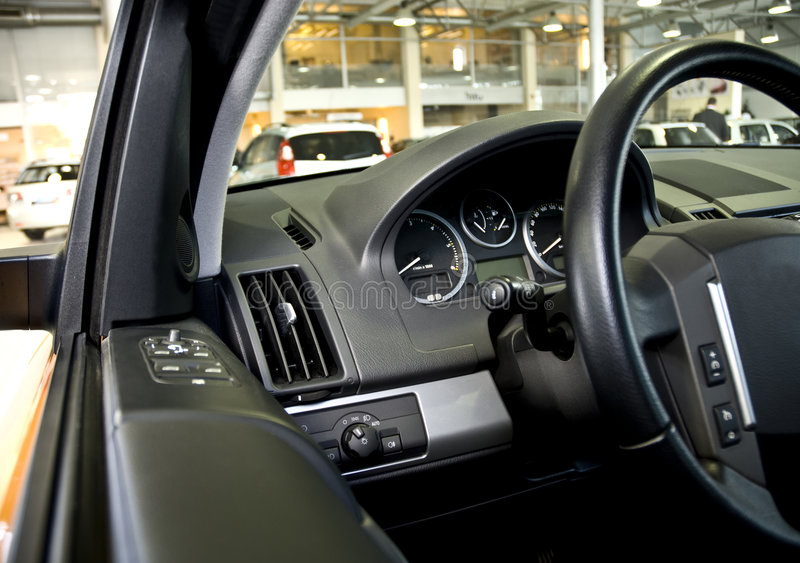 Download Steering Wheel And Dashboard Stock Photo - Image: 3188240
