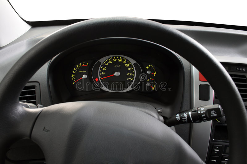 Download Steering Wheel And Dashboard Stock Photo - Image: 4463106