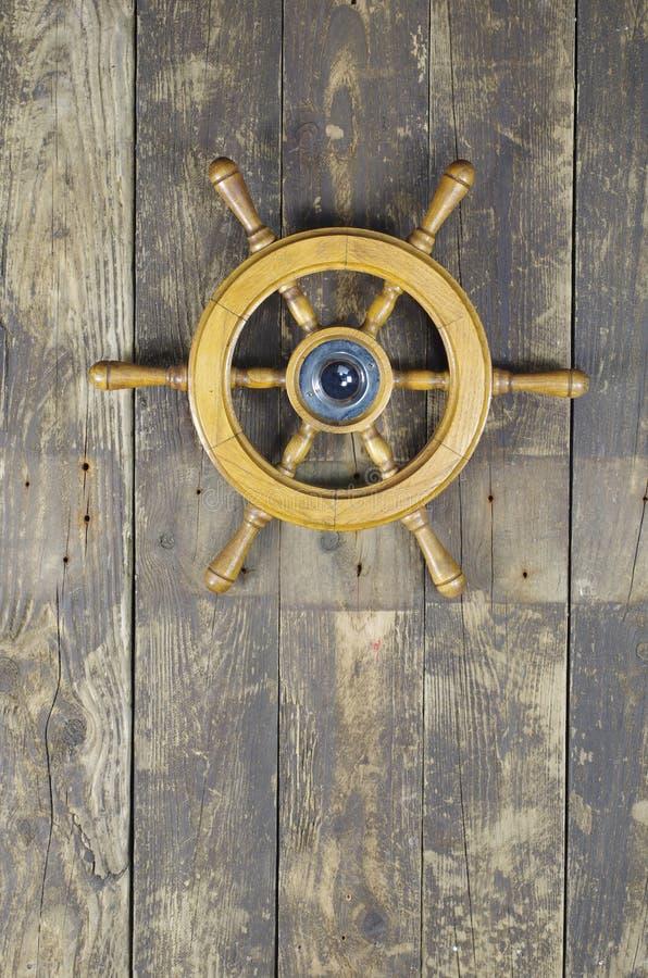 Free Steering Wheel Of Sailing-ship Stock Image - 27350801