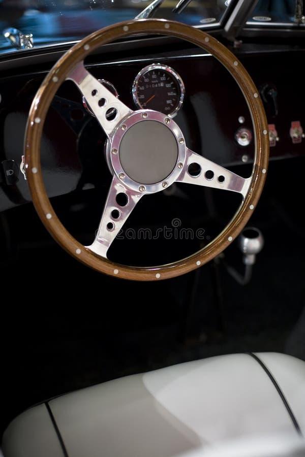 Steering wheel of an oldtimer