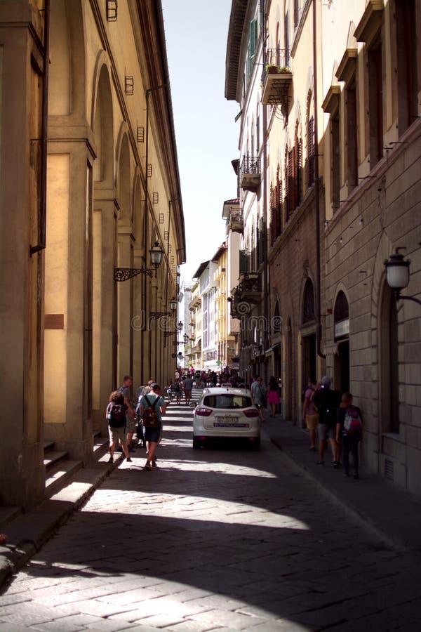 Steets Флоренса стоковые фотографии rf