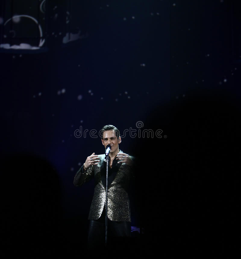 Stefan Banica Junior Concert arkivfoton