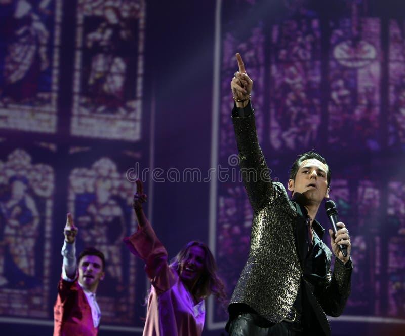 Stefan Banica Junior Concert royaltyfri fotografi