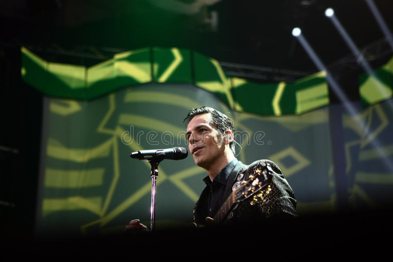 Stefan Banica Junior Concert royaltyfri bild