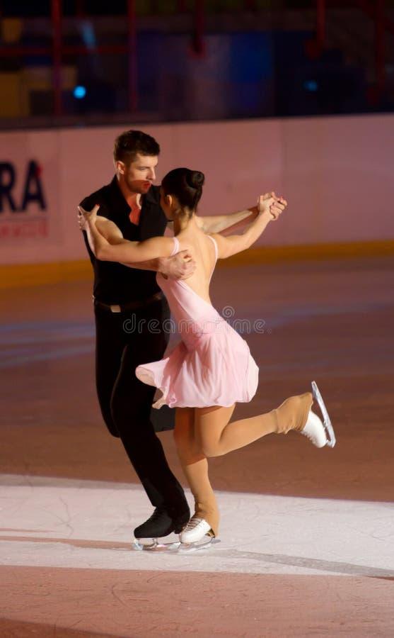Stefania Berton & Ondrej Hotarek Imagem de Stock Editorial
