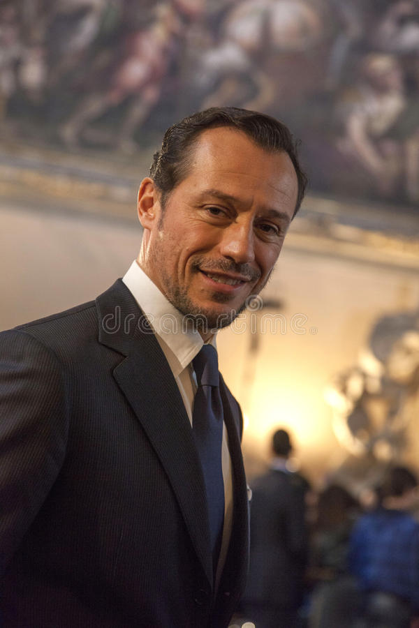 Stefano Accorsi стоковое фото
