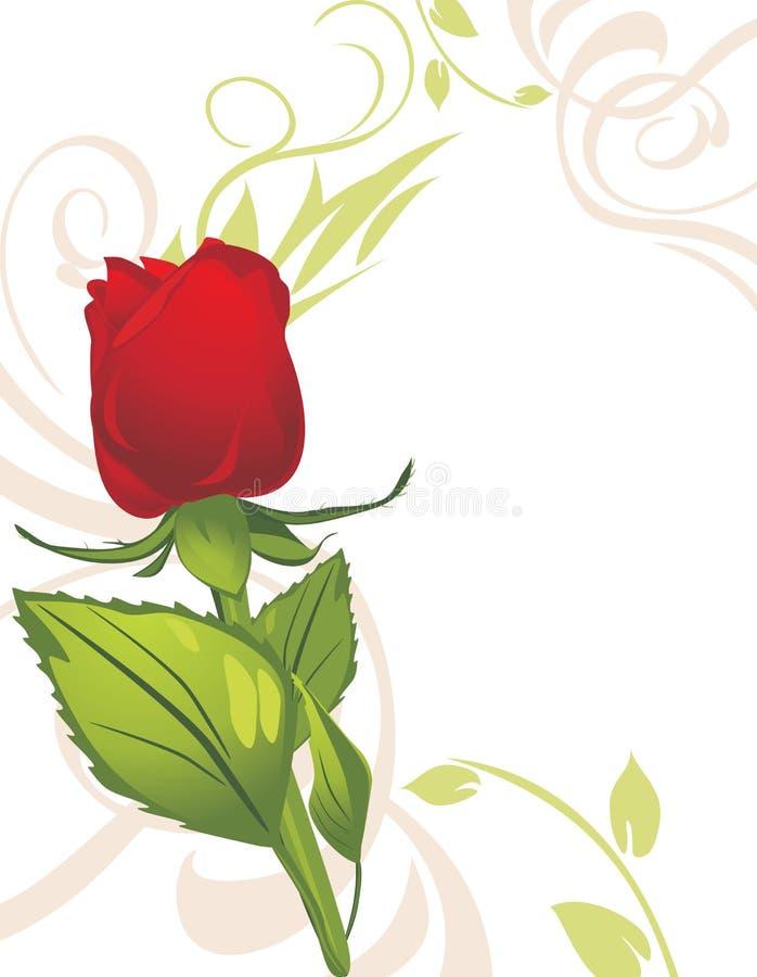 steg dekorativ red för bakgrund stock illustrationer