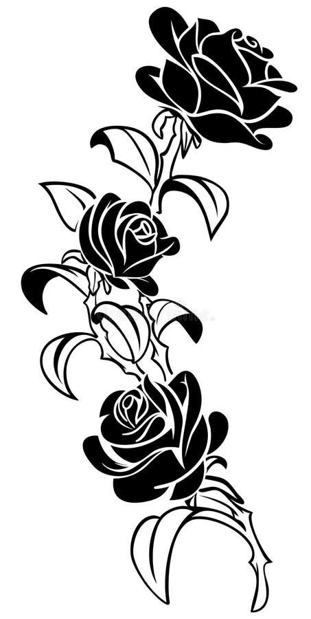 Steg tatueringen vektor illustrationer