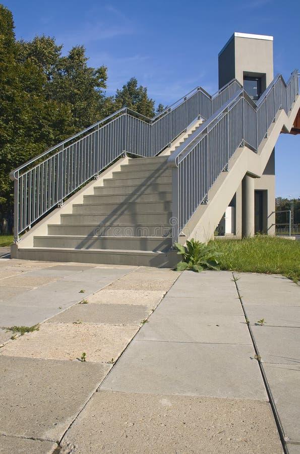 Steg-Treppen stockfotos