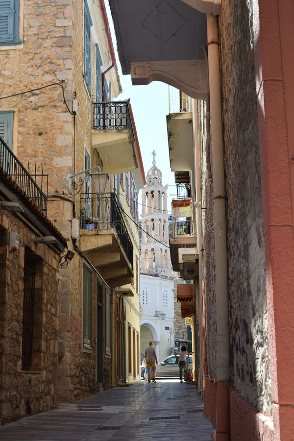 Stegen van Griekenland stock foto