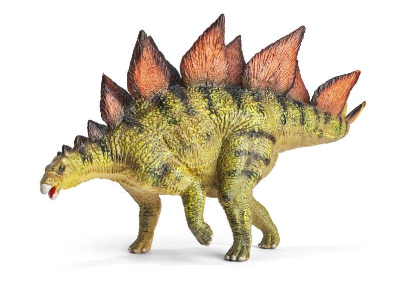 Stegosaurus, γένος του θωρακισμένου δεινοσαύρου στοκ φωτογραφία