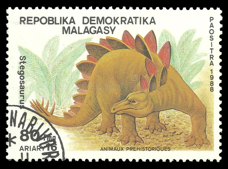 stegosaurus στοκ φωτογραφία