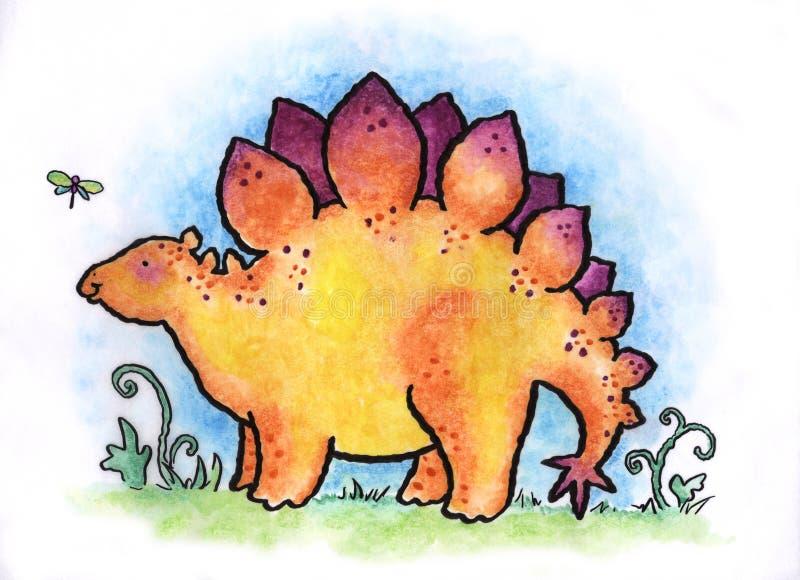 Stegosaurus Royalty Free Stock Image