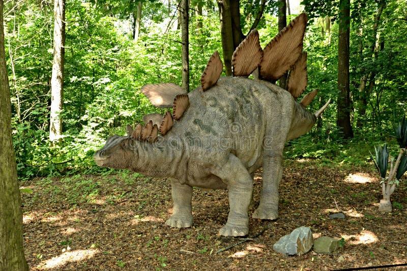 stegosaurus imagem de stock